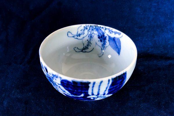 カサブランカミニ茶碗斜め上