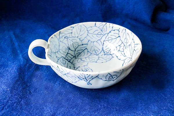 木の葉スープカップ
