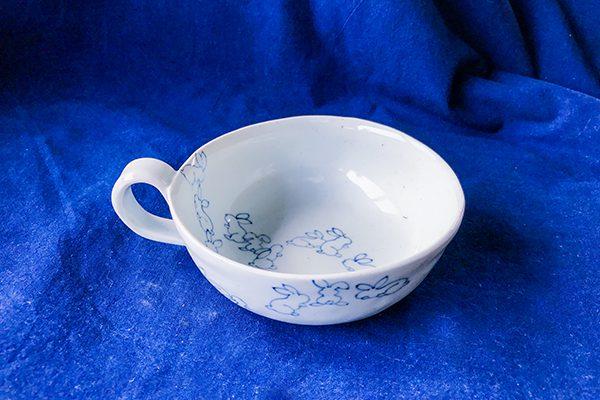 うさぎスープカップ