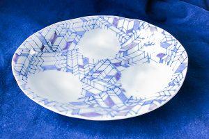 矢羽根カレー皿